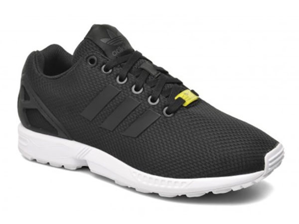 Adidas ZX Flux черные с белым