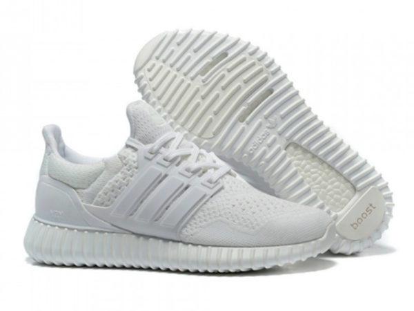 Кроссовки Adidas Ultra Boost мужские белые
