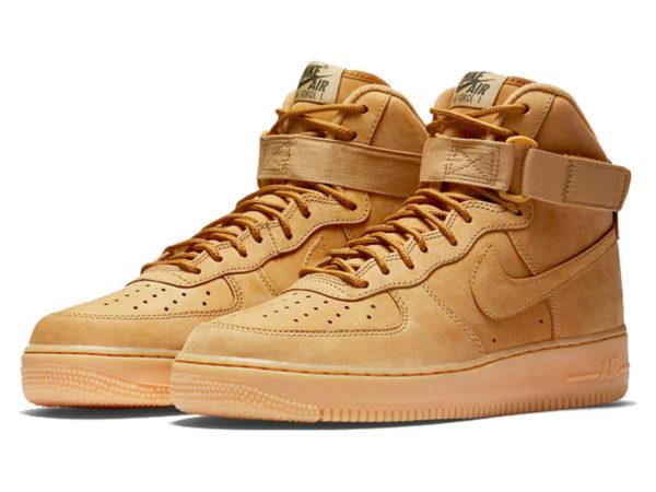 Кроссовки Nike Air Force 1 Mid 07 песочные мужские