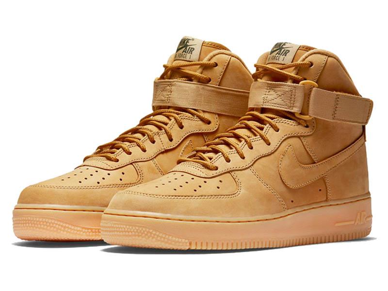6e3ba4b2 Кроссовки Nike Air Force 1 Mid песочные мужские - купить в интернет ...