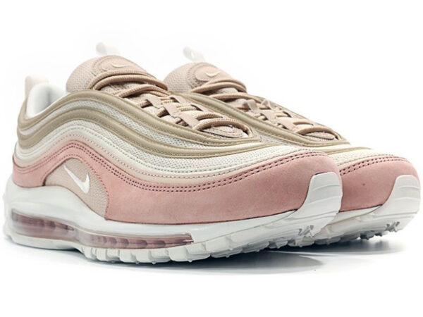 Nike Air Max 97 бежевые с розовым