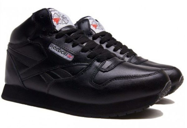 Reebok High With Fur All Black (40-45)