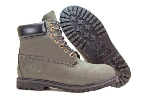 Зеленые ботинки Timberland