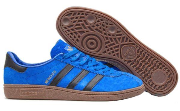 Adidas Munchen Blue-Black синие с черным (40-44)