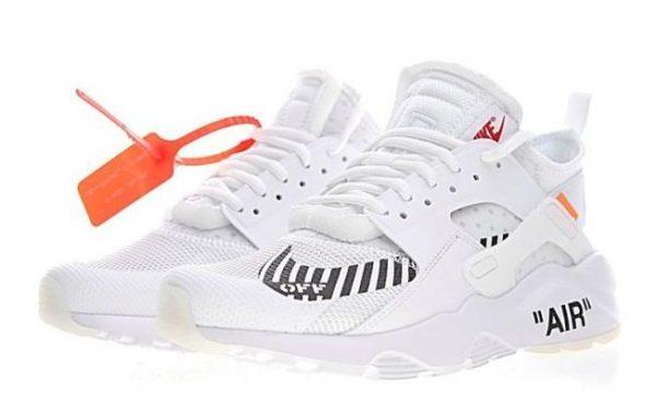 Nike Air Huarache OFF-WHITE x белые (40-44)