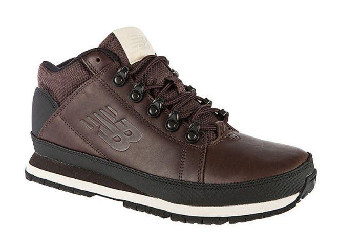 Кроссовки New Balance 754 кожаные темно-коричневые (40-45)