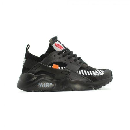 Nike Air Huarache OFF-WHITE x черные Black (40-44)