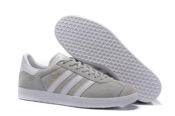 Adidas Gazelle серые с белым (35-44)