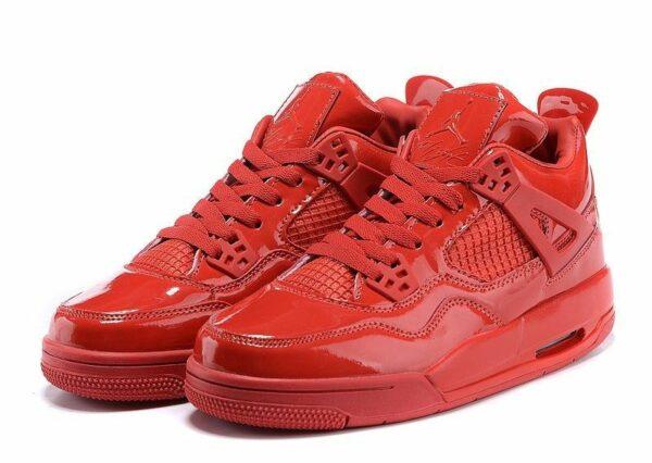 Air Jordan 4 Retro глянец красные (40-45)