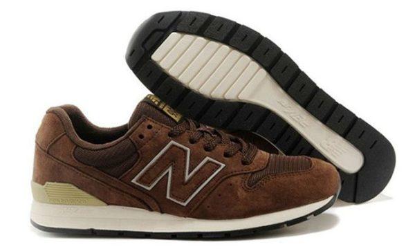 Коричневые кроссовки New Balance