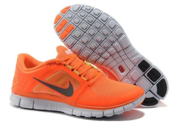 Nike Free Run 5.0 V3 оранжевые (39-44)