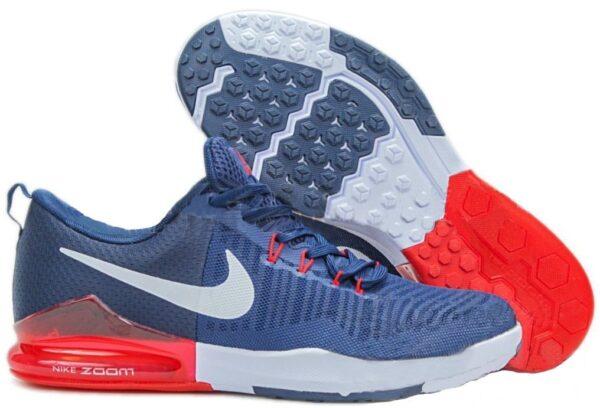 Nike Zoom Train Action синие с красным и белым (40-44)