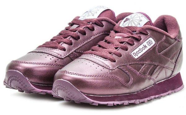 Фиолетовые кроссовки Reebok