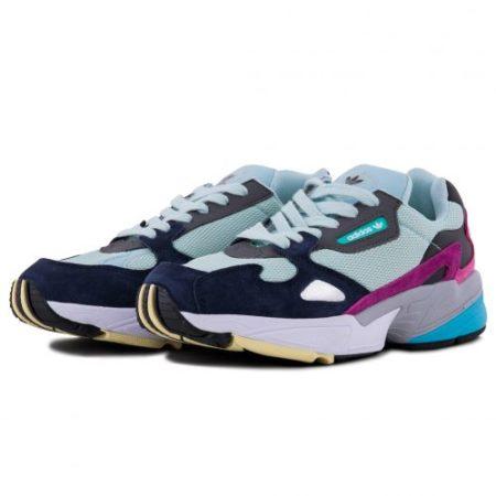 Мятные женские кроссовки