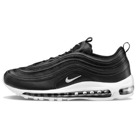 Nike Air Max 97 кожа Black White (35-45)